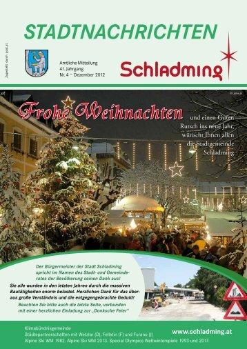 Ausgabe Dezember 2012 - Schladming