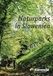 Naturparks in Slowenien - Slovenia