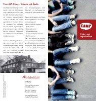 Das JZ Kamp - Damals und Heute - Die Falken Bielefeld