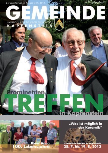 auto- waschanlage in kapfenstein ehrenzeichen - Gemeinde ...