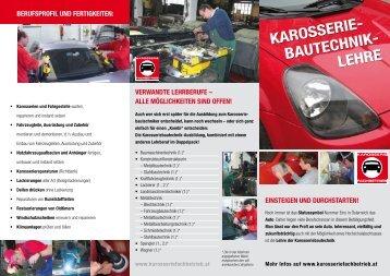 KarOssEriE- BautEchniK- LEhrE - karosserie-ooe.at