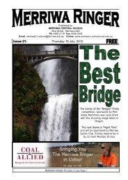 Issue 21: - Merriwa Central School