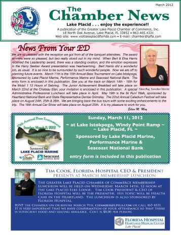 Chamber News - Greater Lake Placid Chamber of Commerce