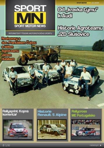 """Od """"kravka týmu"""" k Audi Historie Agroteamu JZD ... - Sport Motor News"""