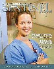 OSBN Sentinel Newsletter, December 2009 - State of Oregon