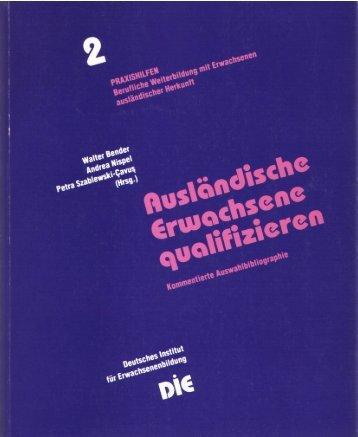 Ausländische Frauen - Deutsches Institut für Erwachsenenbildung