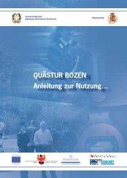 QuÄstur bozen Anleitung zur nutzung… - Polizia di Stato