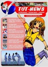 TUT-NEWS 2007 - der Taekwondo Union Thüringen eV