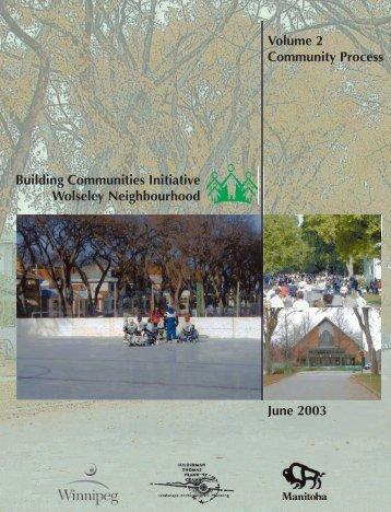 Wolseley Neighbourhood Community Process vol2 - City of Winnipeg