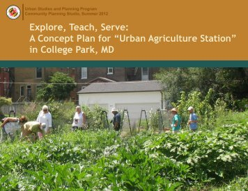 2012_Summer_Urban_Ag.. - University of Maryland School of ...