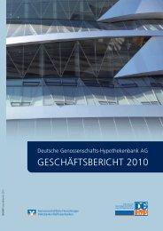 GESCHÄFTSBERICHT 2010 - DG Hyp