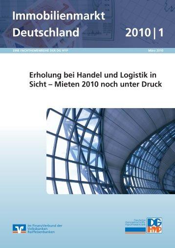 Immobilienmarkt Deutschland 2010 | 1 - DG Hyp