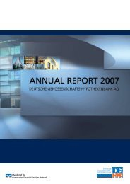 Annual Report 2007 - DG Hyp