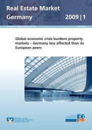 Real Estate Market Germany 2009 - DG Hyp