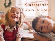 Kindergarten --- (k)eine Zeit für Infekte - Deutsches Grünes Kreuz ...