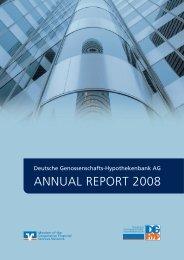 ANNUAL REPORT 2008 - DG Hyp