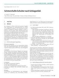 Schmerzhafte Schulter nach Schlaganfall - Deutsche Gesellschaft ...