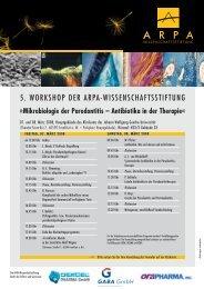 Mikrobiologie der Parodontitis – Antibiotika in der Therapie