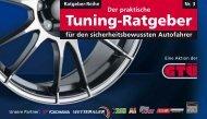 Der praktische Tuning-Ratgeber, Nr. 3 - GTÜ