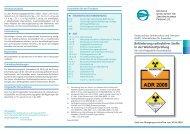 Beförderung radioaktiver Stoffe in der Werkstoffprüfung - DGZfP