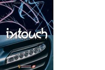 60 Jahre Porsche in der Schweiz» hat Porsche die Porsche Clubs ...