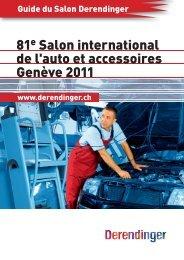 81e Salon international de l'auto et accessoires ... - Derendinger