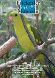 Seit 100 Jahren Ornithologischer Verein Rheinfelden ... - fricktal24.ch