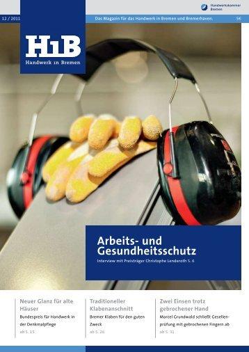 Arbeits- und Gesundheitsschutz - Handwerkskammer Bremen