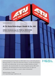 A.T.U Auto-Teile-Unger GmbH & Co. KG - H&S Heilig and Schubert ...