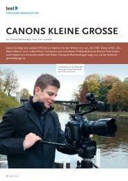 CanOnS kLeine GrOSSe - Fachverlag Schiele & Schön