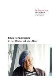Silvia Tennenbaum - Historisches Museum Frankfurt - Frankfurt am ...