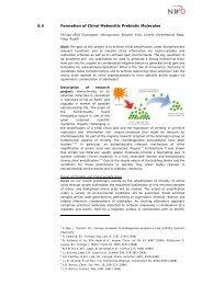 verbose project description (pdf) - Chair for Bioinformatics
