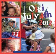 2012 4th of July - Ojai Valley News