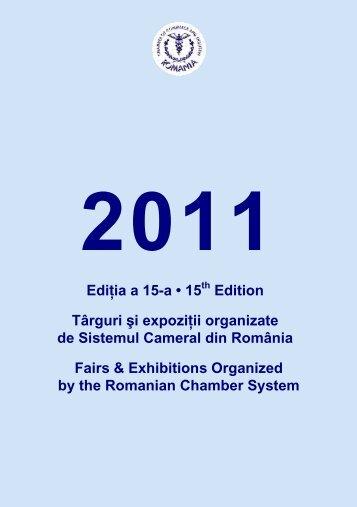 2011 Ediţia a 15-a • 15 - Camera de Comert si Industrie a Romaniei