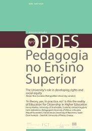 Pedagogia no Ensino Superior - Esec