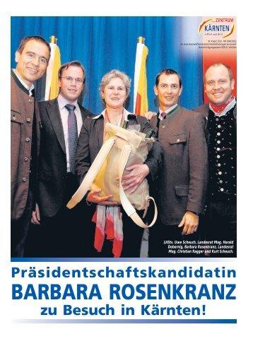 BARBARA ROSENKRANZ - Zentrum Kärnten in Wort und Bild