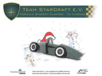 Newsletter Dezember 2010 - Team StarCraft