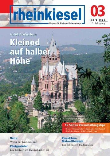 Kleinod auf halber Höhe - Rheinkiesel