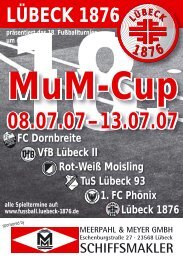LÜBECK 1876 - Sportverein Gut Heil von 1876 e.V.