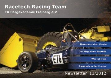 Der Weg eines Bauteils - Racetech Racing Team