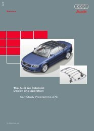 The Audi A4 Cabriolet Design And Operation - VolksPage.Net