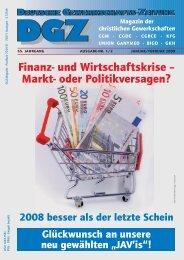 Finanz- und Wirtschaftskrise – Markt- oder Politikversagen? - CGM