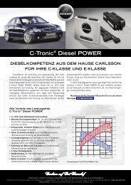 C-Tronic® Diesel POWER - MOTOR-TALK.de