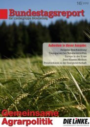 Bundestagsreport 16 2012 - Dagmar Enkelmann