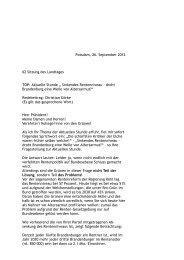 Rede von Christian Görke - Die Linke. Brandenburg