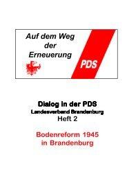 Heft 2 - Die Linke. Brandenburg