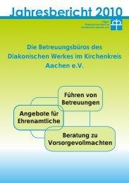 Statistiken - Diakonie Kirchenkreis Aachen