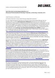Sofortinformation PV-Sitzung Dezember 2012 - Die Linke ...