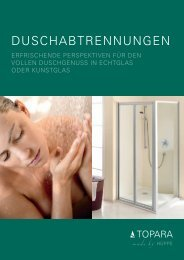DUSCHABTRENNUNGEN - Peter Jensen