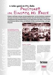 ProStore® im Einsatz bei Brose - TEAM Partner für Technologie und ...